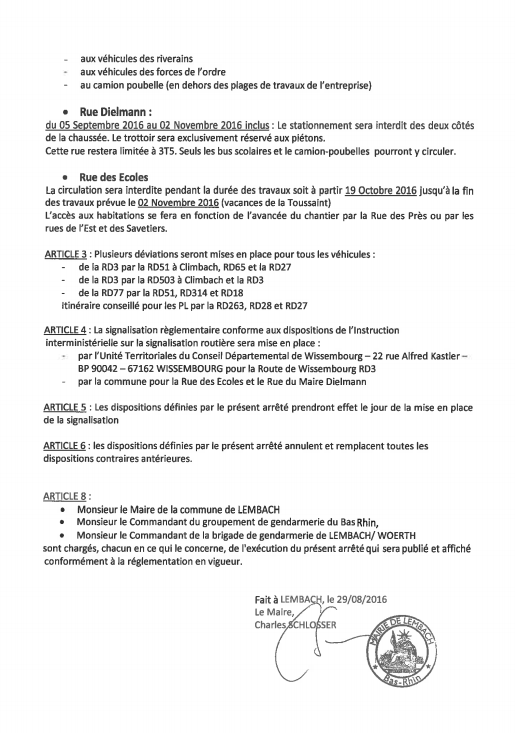 Travaux Route Wiss page 2