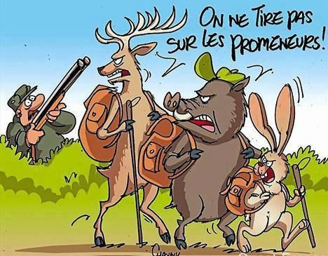 chasse-humour